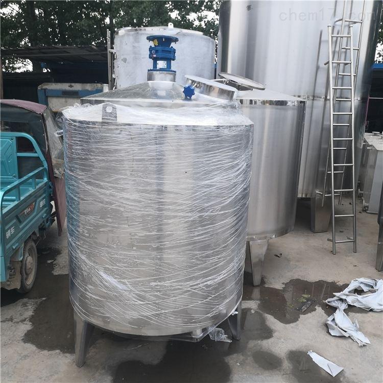 厂家定做全新不锈钢储罐、搅拌罐