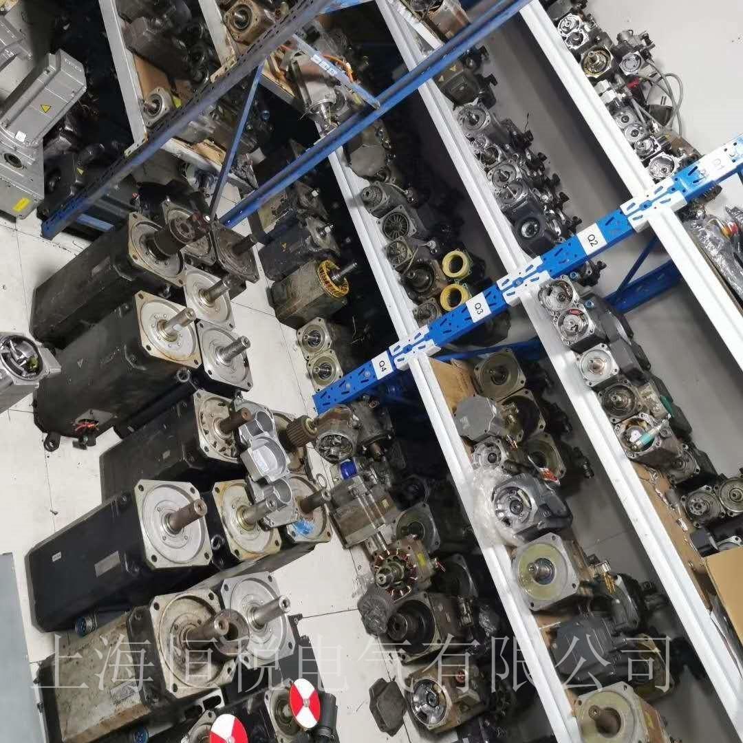 西门子伺服电机一通电就跳闸故障修复解决