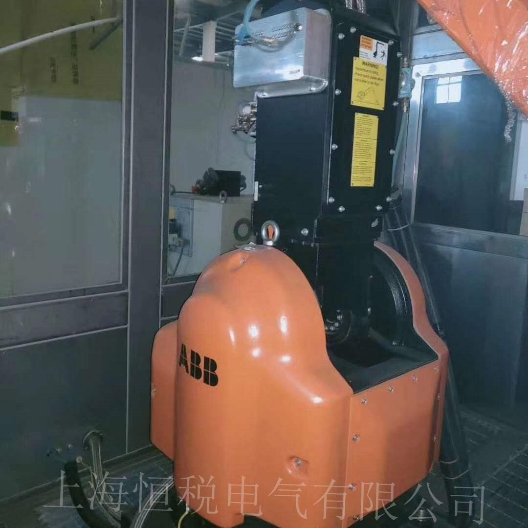 ABB机器人IRC5示教器无法进入系统修复专家