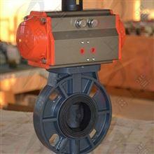 气动PVC蝶阀D671S供应厂家
