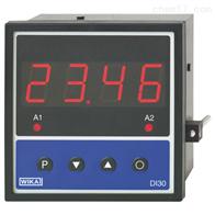 型号 DI30威卡WIKA面板安装式数显仪