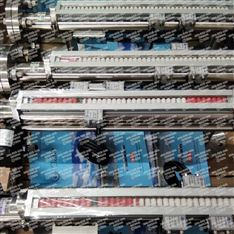 青海电站BNA21机组漏油箱磁翻板液位计