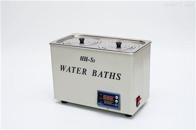 HH-S2数显两孔水浴锅