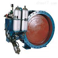 蓄能器式液控缓闭止回蝶阀HD7X41X