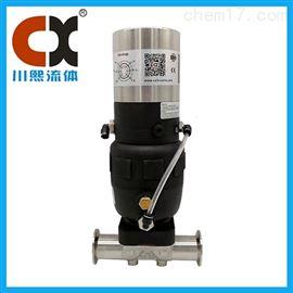 衛生級氣動隔膜調節閥