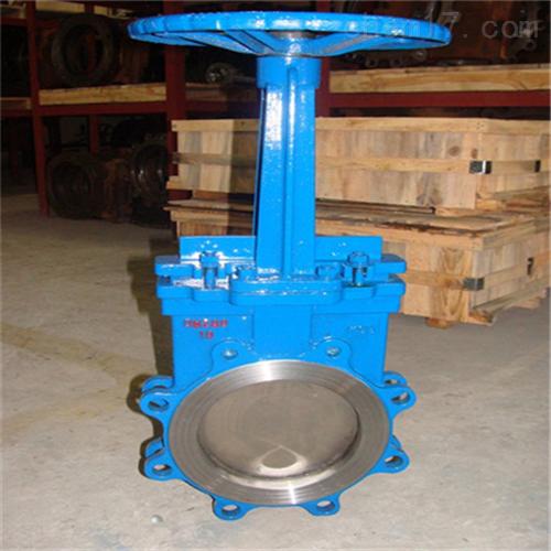 不锈钢刀型链轮式浆液阀