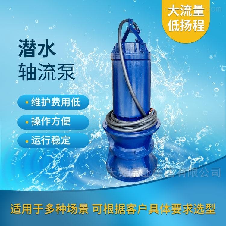 大型水库取水用600QZB潜水轴流泵现货供应