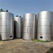 50噸二手不銹鋼拋光儲罐