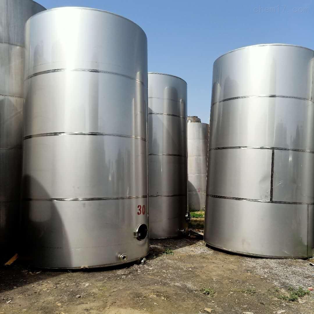 处理二手60吨单层不锈钢储酒罐储罐