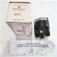 20873仙童Fairchild 20系列气动大容量增压器