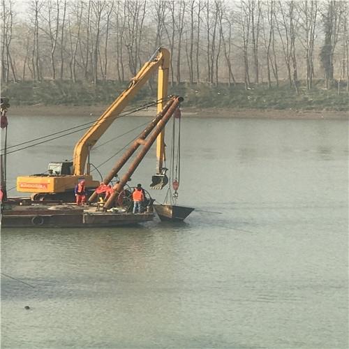张家口过河管道水下安装公司-沉管