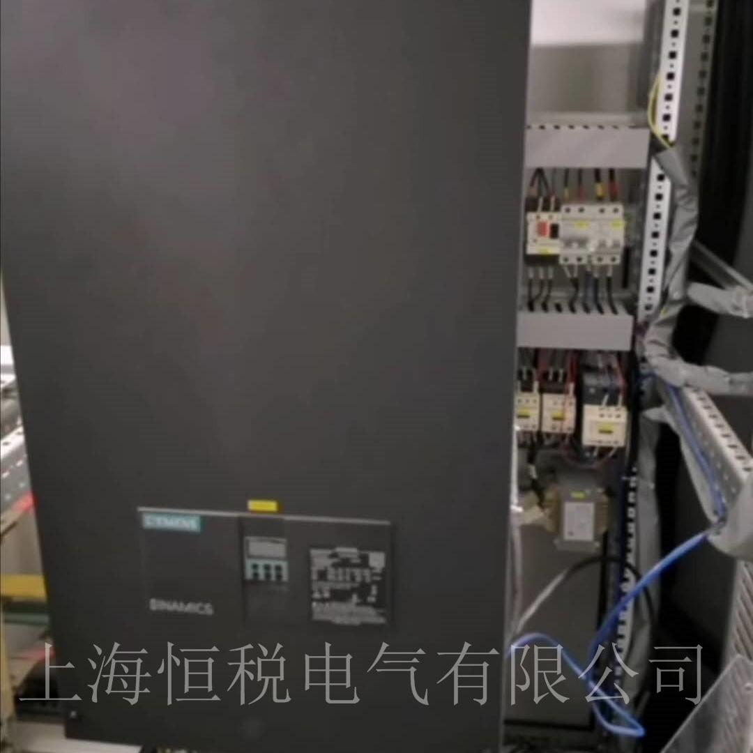 西门子调速器6RA8087开机面板无显示维修