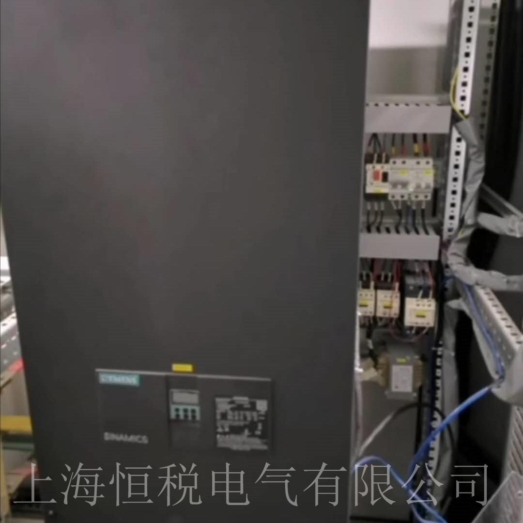 西门子6RA8085调速器面板报警F60052维修