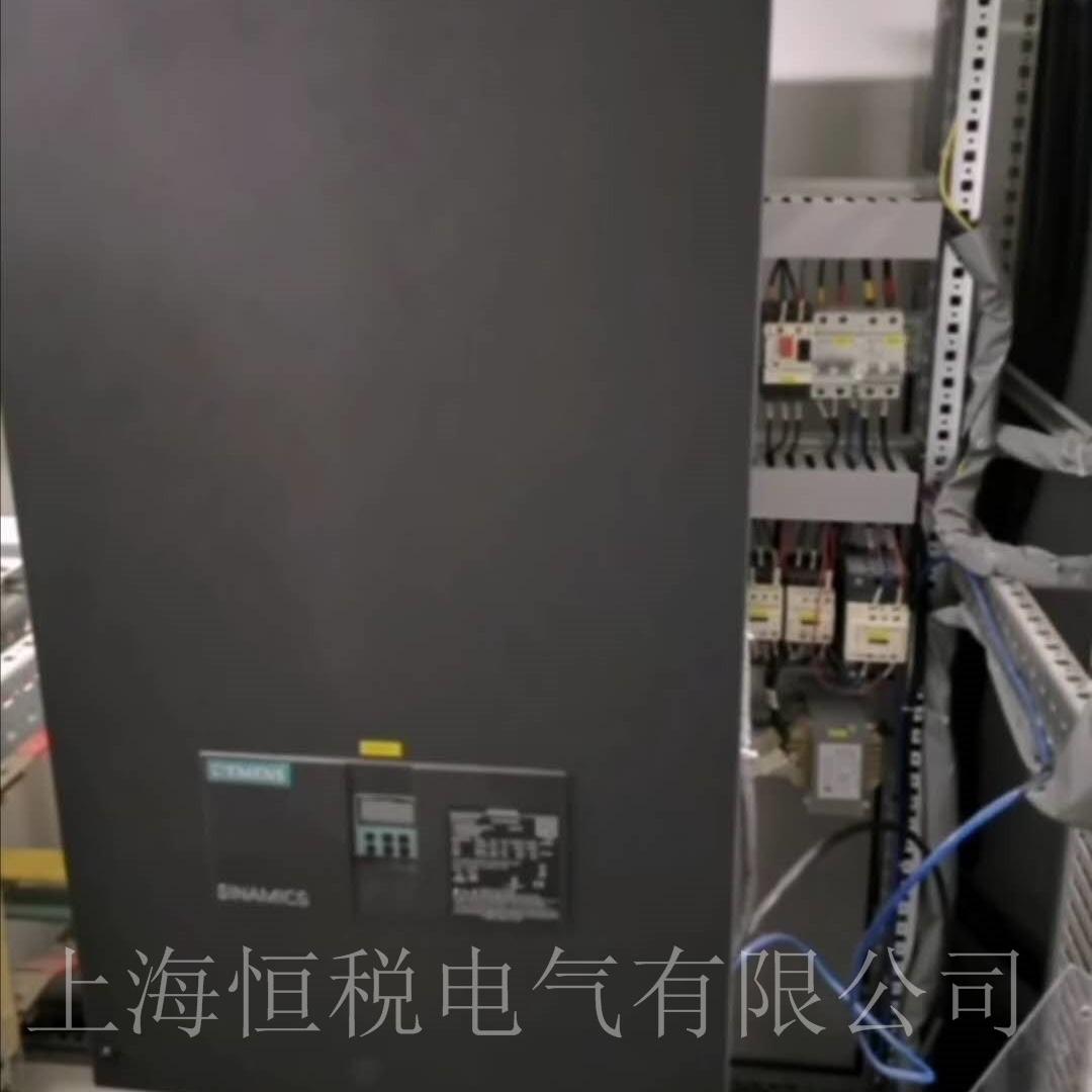 西门子控制器6RA80面板报警F60005现场修理
