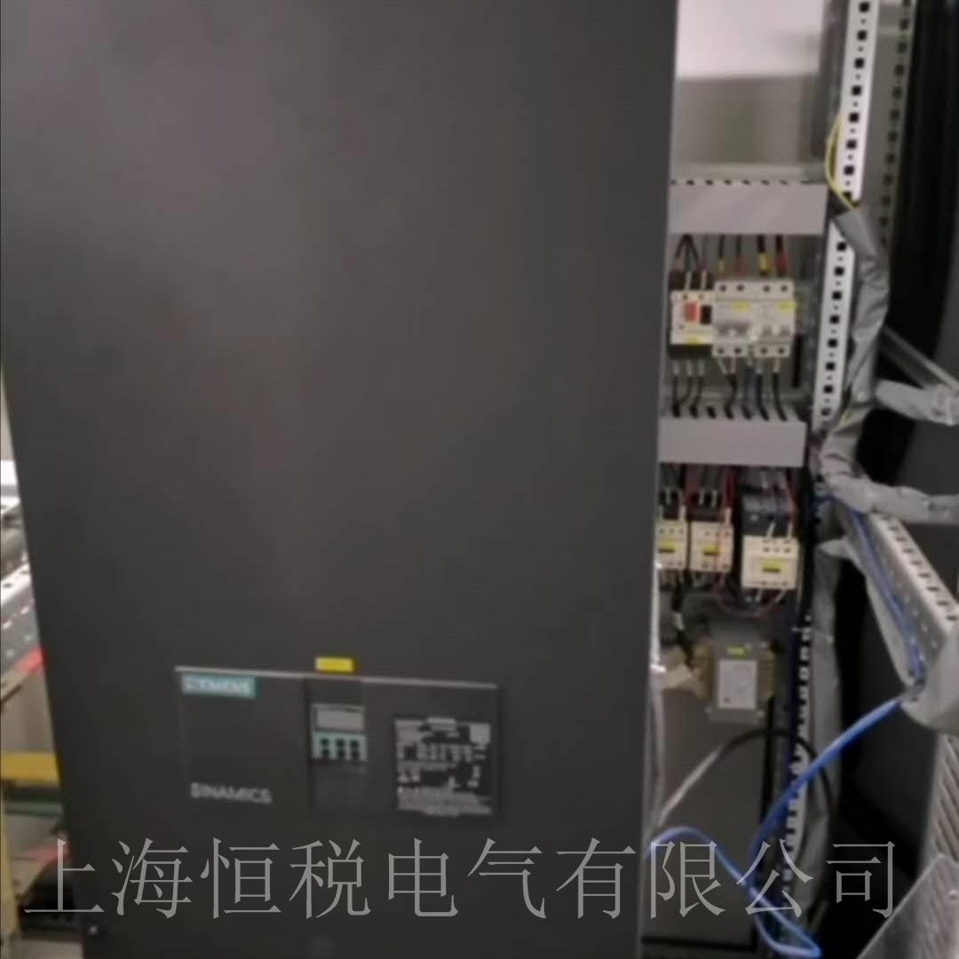 西门子控制器6RA80显示报警F60091售后维修