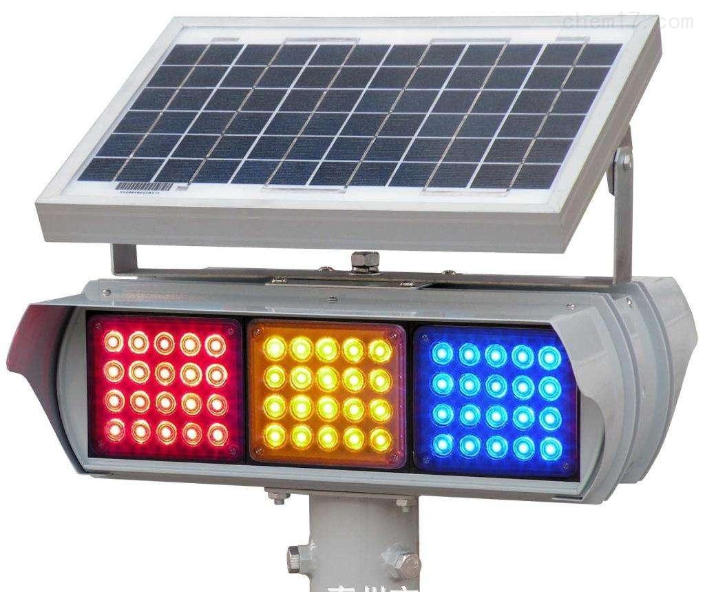 高亮度道路警示灯  路边安全太阳能灯