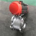 Q671F意式对夹气动不锈钢超薄型球阀
