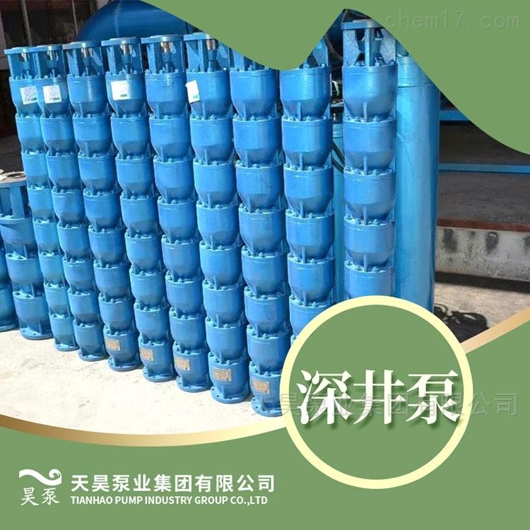 农田灌溉用400QJ深井潜水泵具体参数