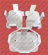 9常州萬科儀器 訂制不銹鋼三角燒瓶夾具