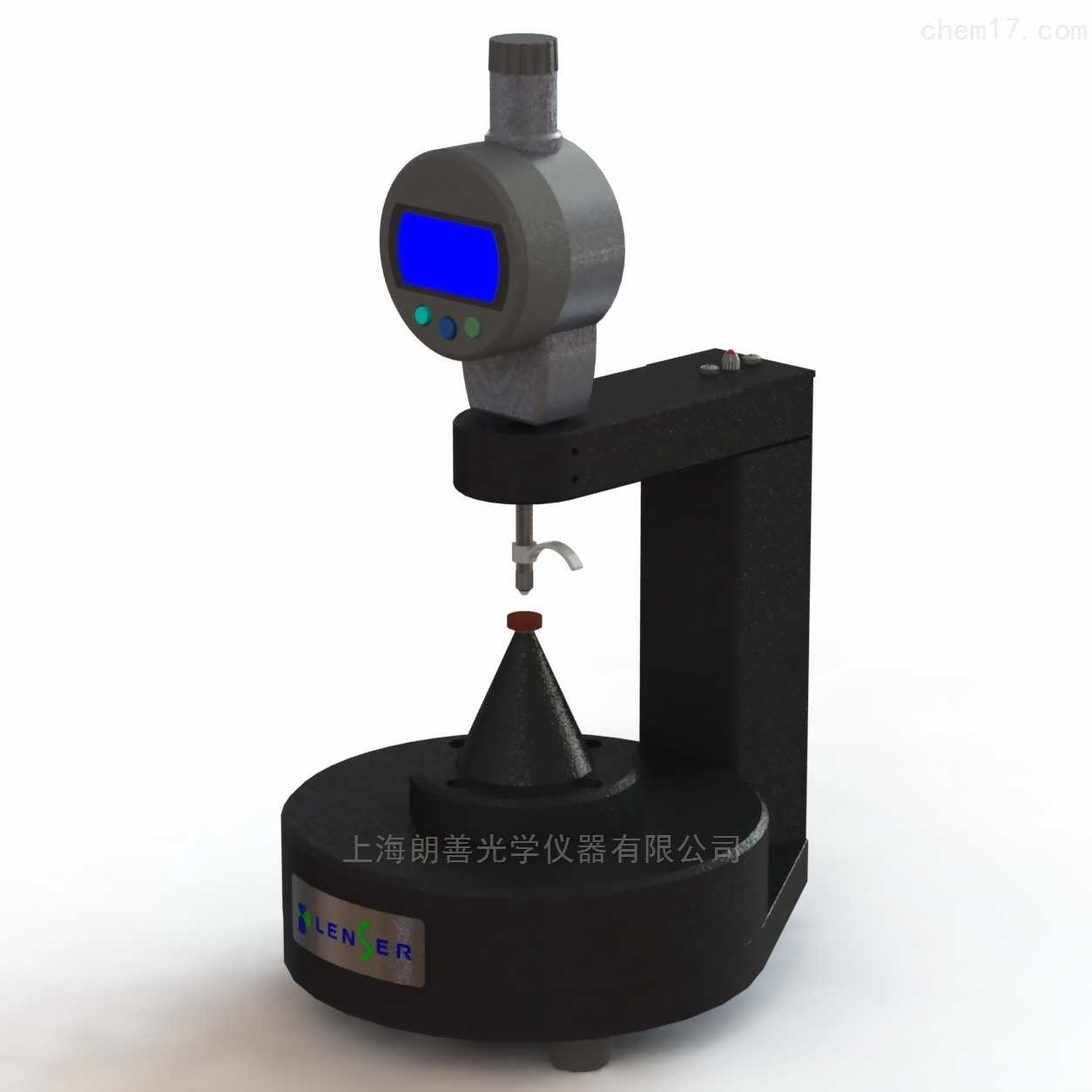 硬性接触镜中心厚度测量仪