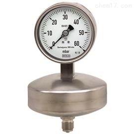 型号 632.51德国威卡WIKA膜盒式压力表
