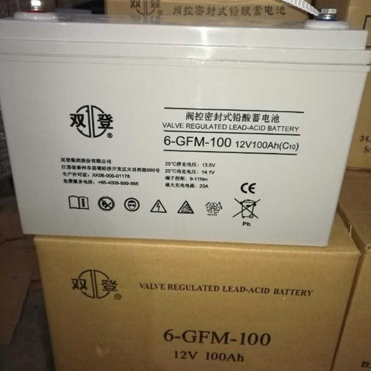 双登蓄电池6-GFM-100销售中心