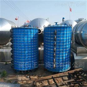大量回收10㎡搪瓷片冷凝器换热器