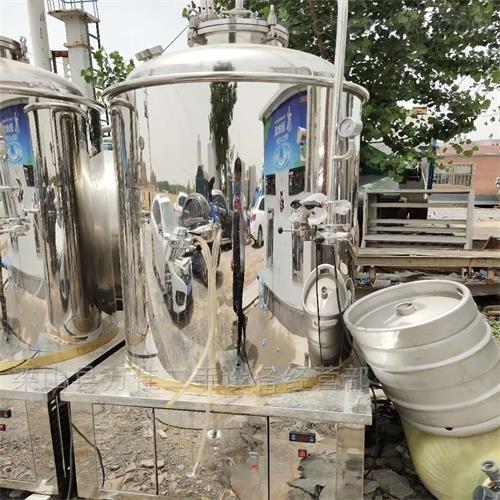 厂家回购二手啤酒设备