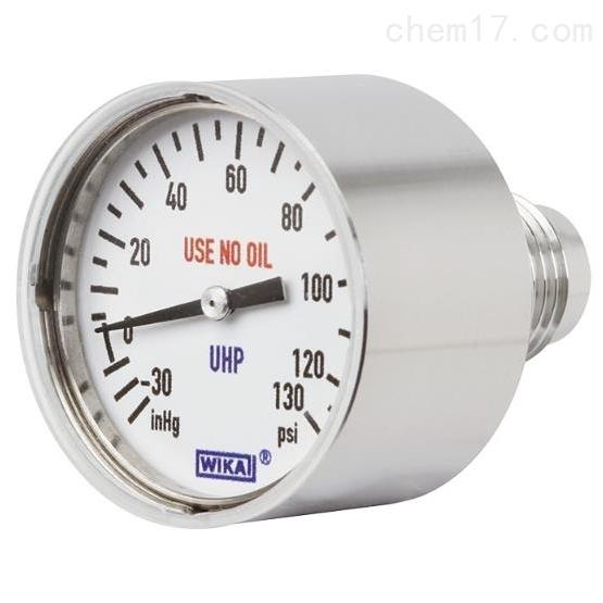 WIKA 432.10, 432.15 微型膜片压力表
