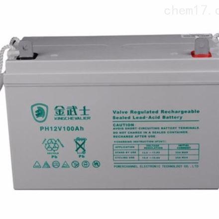 金武士12V100AH PW100-12 蓄电池 UPS