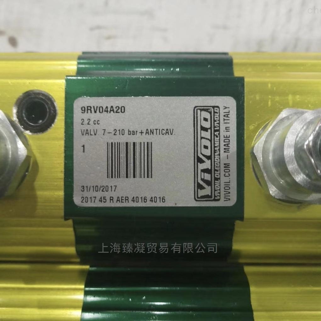 意大利进口VIVOLO齿轮泵9RV04A20