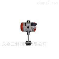 DQ661F气动焊接式低温球阀