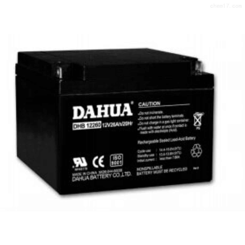 大华蓄电池DHB12260品牌价格