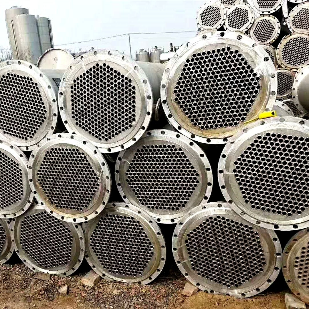 公司高价回收不锈钢冷凝器