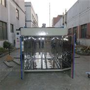 200升油桶预热烘箱-带轨道硅胶油桶固化烘箱