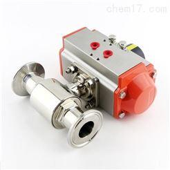 Q681F气动快装式卫生级球阀