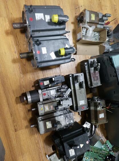 切割机西门子主轴电机更换轴承-当天可以修好