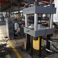 YAW1000吨橡胶支座压剪试验机验收成功
