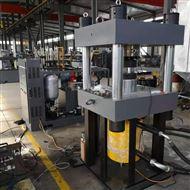 1000吨橡胶支座压剪试验机验收成功