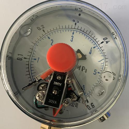 磁助式带前边电接点压力表 YNXC-100ZT