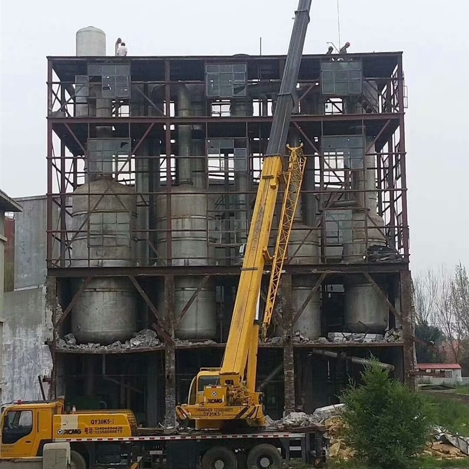 回收大型二手化工设备废水蒸发器