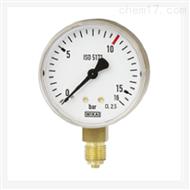 WIKA 威卡波登管壓力表標準焊接111.11