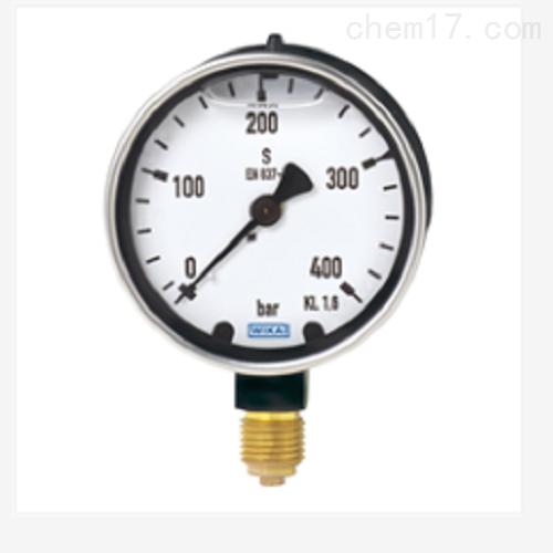 波登管压力表重负型 充液型213.40