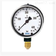 WIKA 威卡波登管压力表重负型 充液型213.40