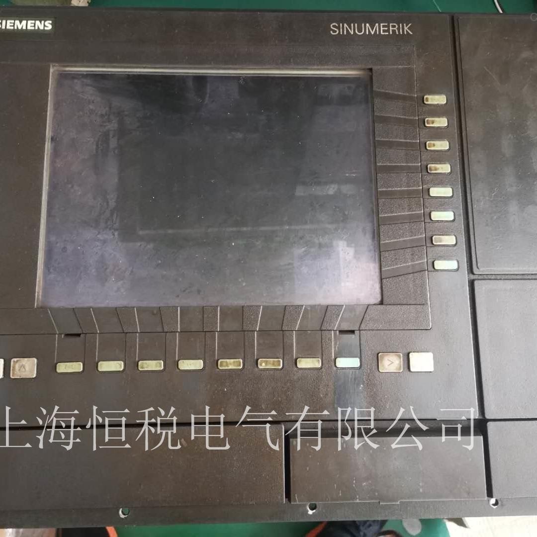 西门子840D系统显示屏开机白屏不启动维修