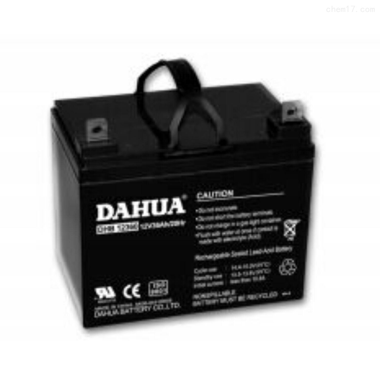大华蓄电池12VDHB1233原装报价