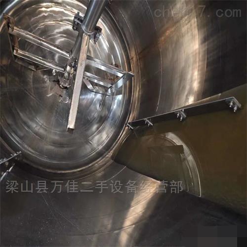 闲置二手5立方内、外盘管不锈钢反应釜出售