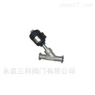 Y661F-焊接气动角座阀