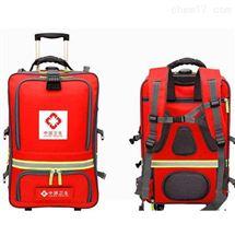 红色个人携行背囊 卫生应急户外演练用装备