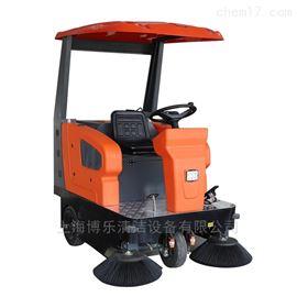 上海小區用電動駕駛式掃地車